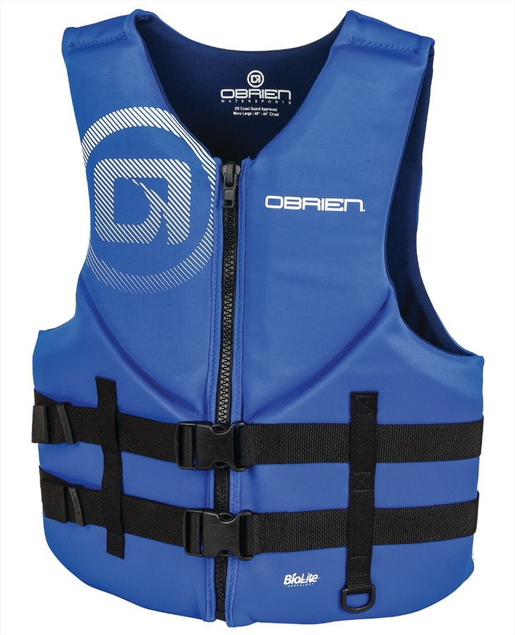 O'Brien Traditional Neo Ski Impact Vest Buoyancy Aid, S Blue Navy 2020