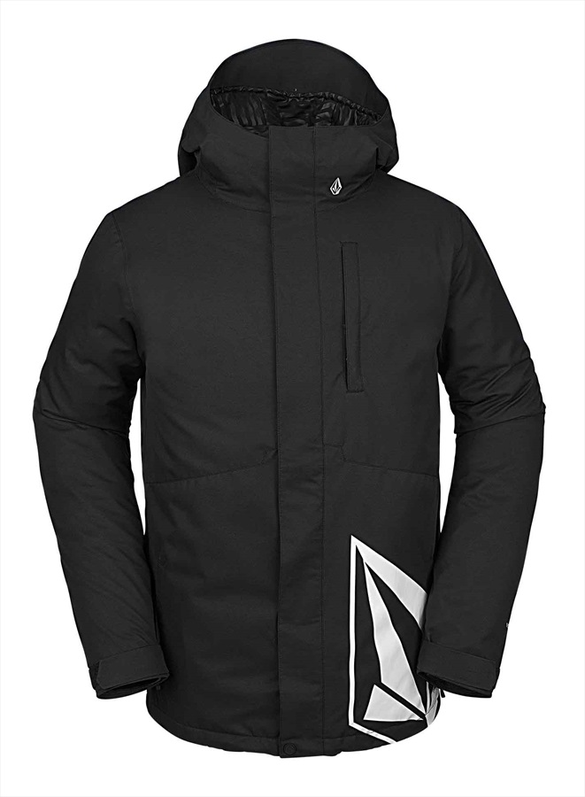 Volcom 17 Forty Insulated Ski/Snowboard Jacket L Black