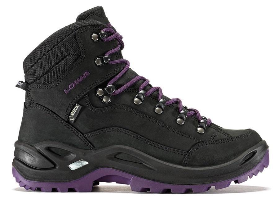 Lowa Renegade GTX Mid Women's LTR Hiking Boots UK 5 Blackberry