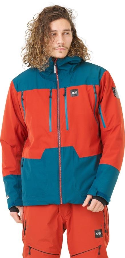 Picture Duncan 3-in-1 Snowboard/Ski Jacket, L Brick