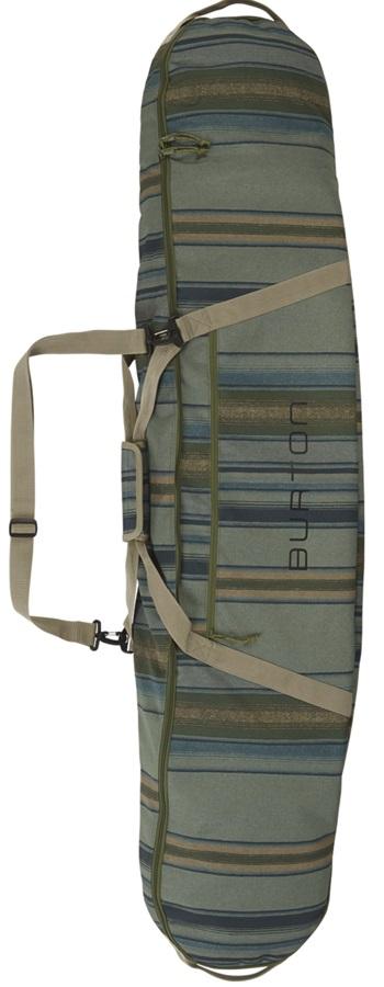 Burton Board Sack Snowboard Bag, 156cm Tusk Stripe Print