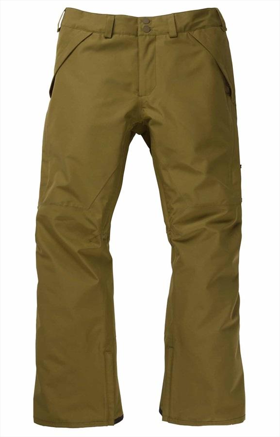 Burton Gore-Tex Vent Snowboard/Ski Pants, M Martini Olive