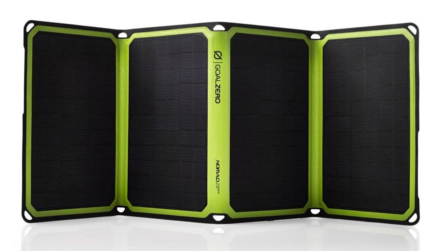 Goal Zero Nomad 28 Plus Large Portable Solar Panel Kit, Black