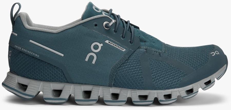 sports shoes 4a1f2 da143 On Cloud Waterproof Women's Running Shoes, UK 4 Storm/Lunar