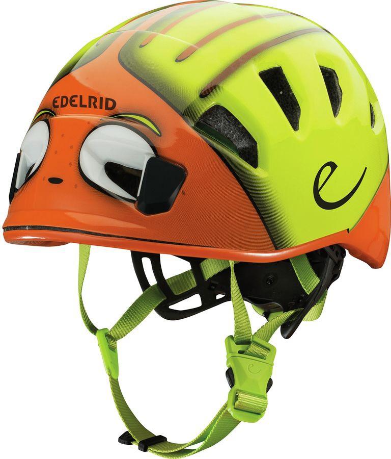 Edelrid Shield 2 Kids Helmet Kids Climbing Helmet 48-56 Cm Sahara
