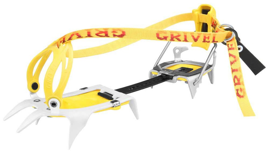 Grivel Ski Tour NewMatic 2.0 Ski Mountaineering Crampon UK 2-12 Yellow