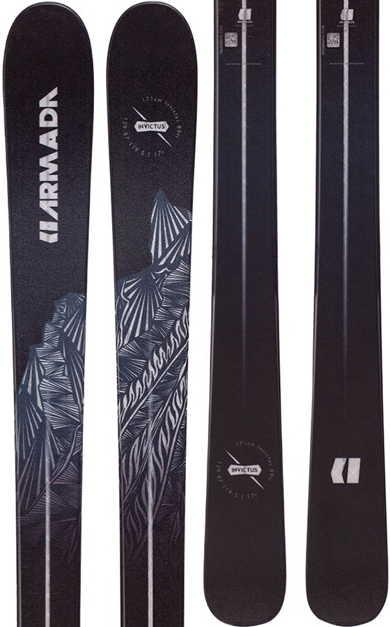 c694034d Armada Adult Unisex Invictus 89Ti Ski Only Skis, 179cm Black/Grey 2019