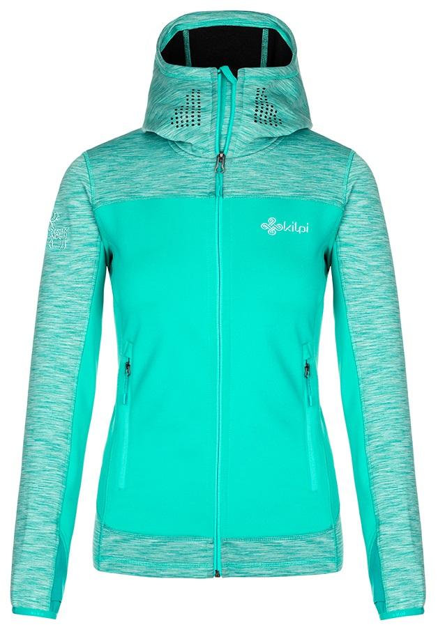 Kilpi Assasin Women's Full-Zip Fleece Hoodie, UK 16 Turqouise
