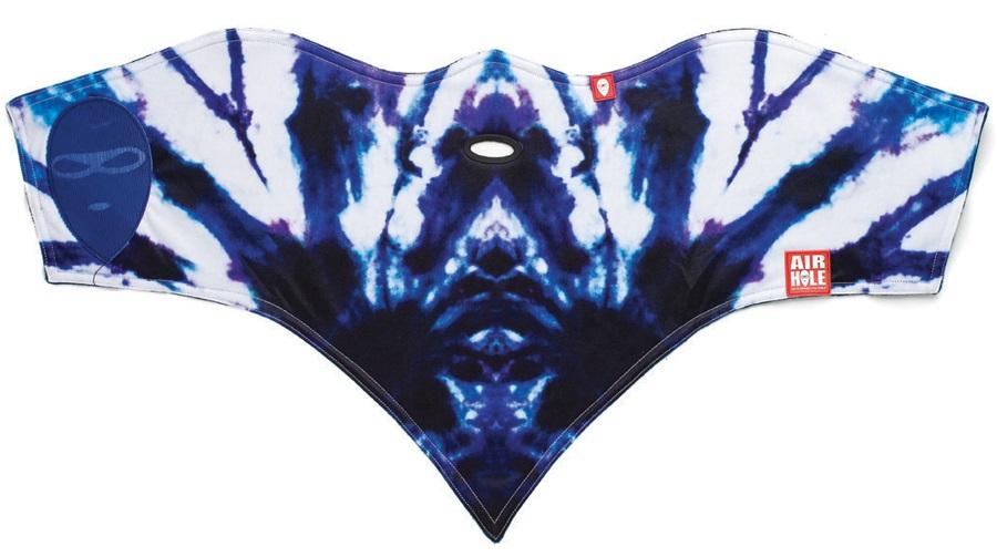 Airhole Standard Snowboard/Ski Face Mask, L/XL, Tye Dye