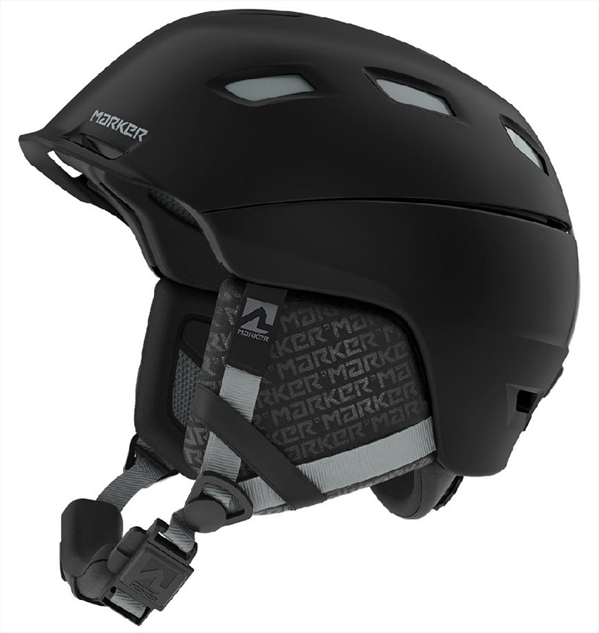 Marker Adult Unisex Ampire Ski/Snowboard Helmet, S Black