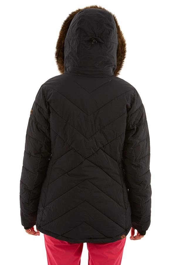 Roxy Quinn Women's Snowboard/Ski Jacket, S True Black 2020