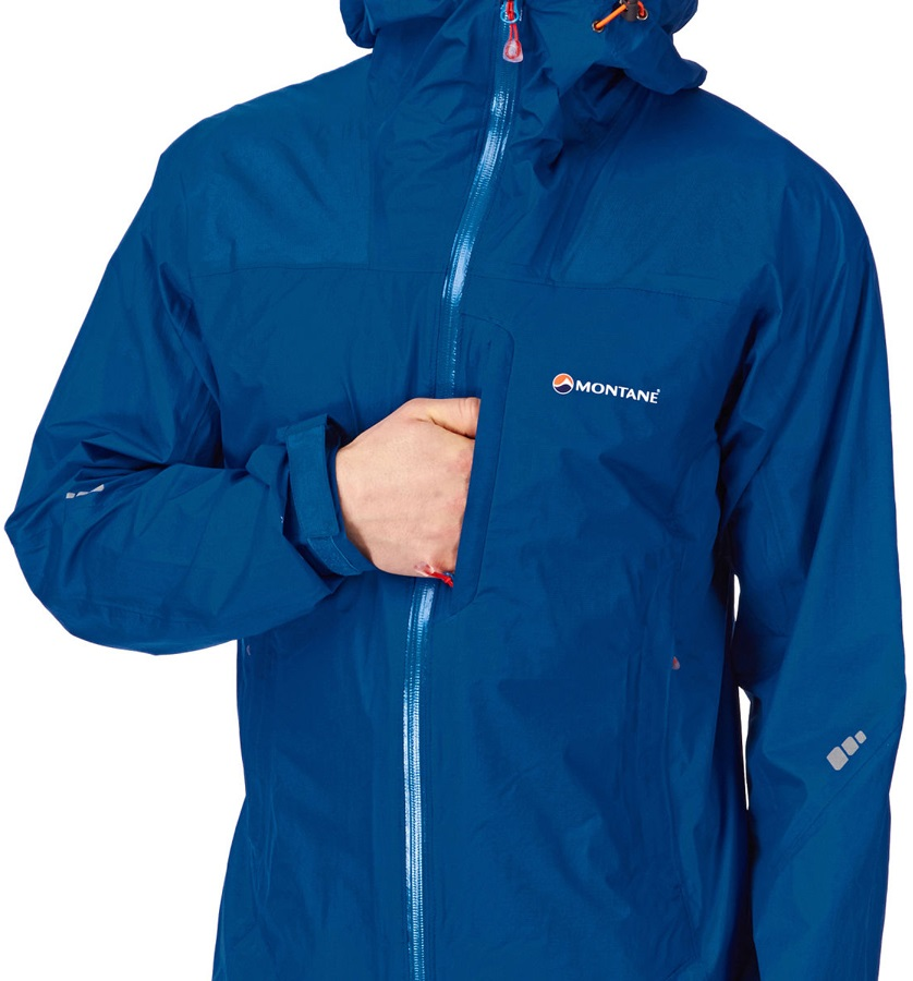 6663ad5d9 Montane Minimus Active Mountain Shell Jacket, L Shadow