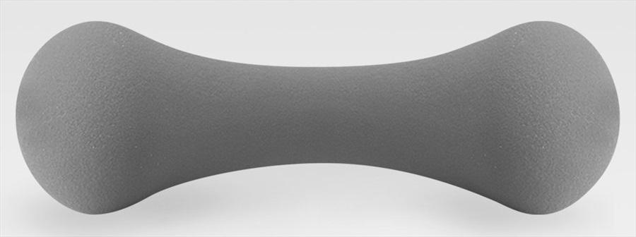 Phoenix Fitness Soft Grip Dumbbells/Weights, 1.5KG Grey