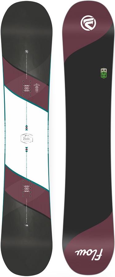 Flow Bella Women's Hybrid Camber Snowboard, 149cm 2018