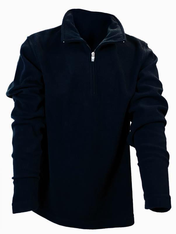 Rucanor Spado II Kids Midlayer Fleece, 104cm, Black