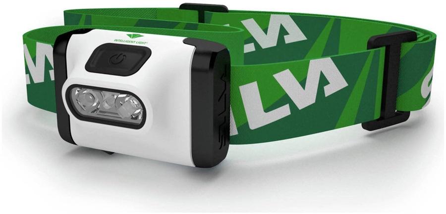 SILVA Headlamp Active X IPX5 Outdoor Headlamp, 120 Lumens Green