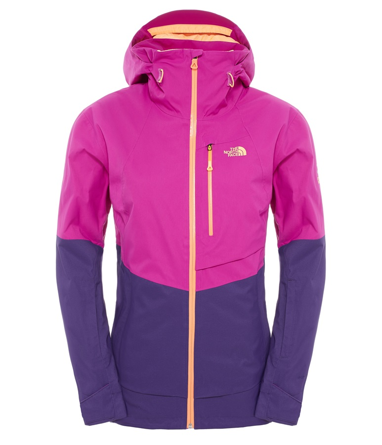 9ddb8c0d3 The North Face Sickline Women's Ski/Snowboard Jacket, L, Pink/Purple
