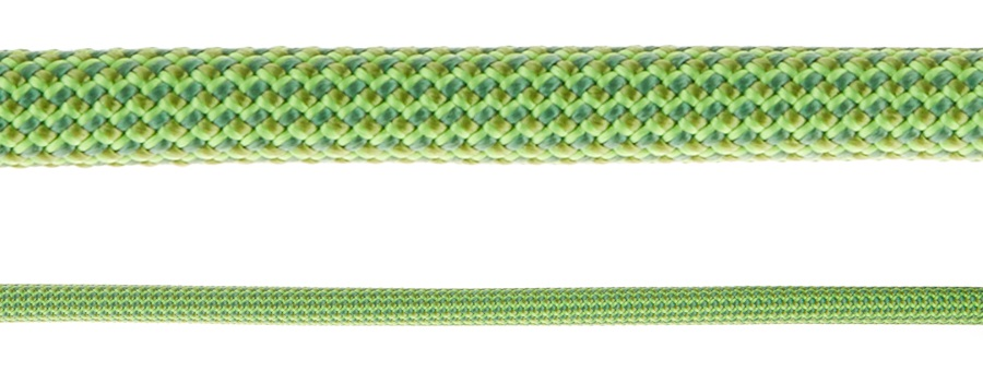 Mammut Serenity Dry Triple Rated Climb Rope, 60m X 8.7mm Neon Green