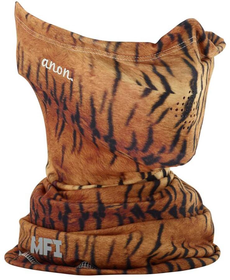 Anon LT Neckwarmer Women's MFI Facemask, Tiger