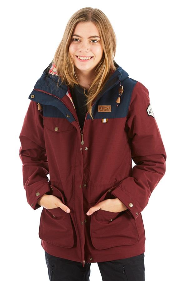 Picture Kate Women's Ski/Snowboard Jacket, M Burgundy