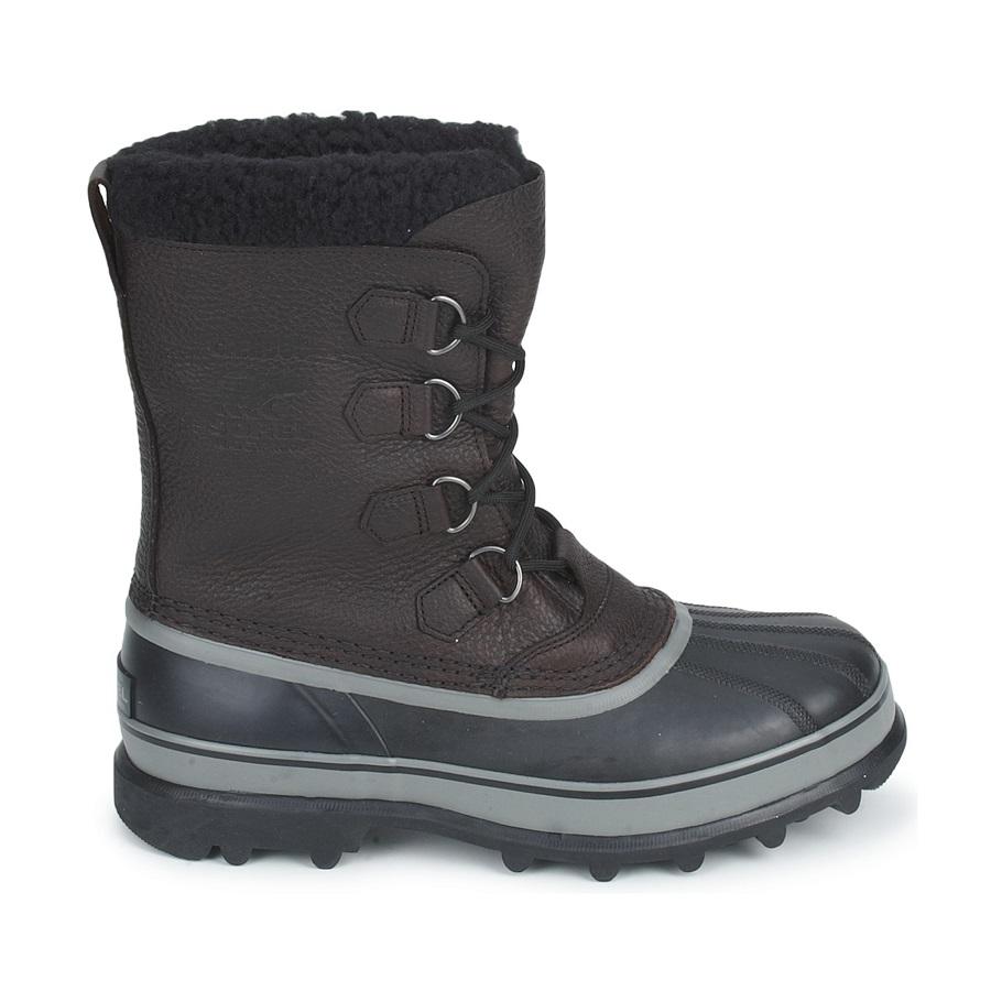 Sorel Caribou Wool Men's Snow Boots UK 10.0 Black