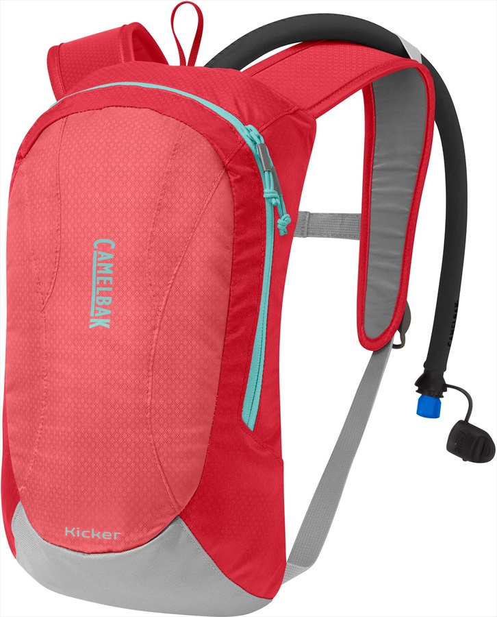 Camelbak Kicker Kid's Hydration Backpack, 1.5L Sugar Coral/Blue