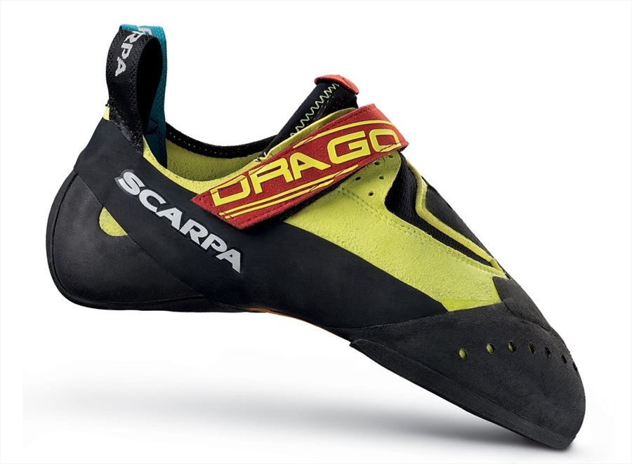 Scarpa Adult Unisex Drago Rock Climbing Shoe, UK 11 Yellow