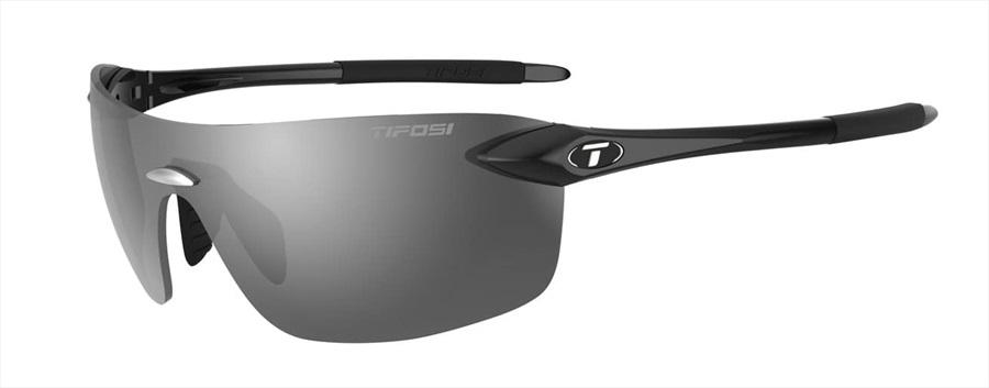 Tifosi Vogel 2.0 Smoke Sunglasses Gloss Black