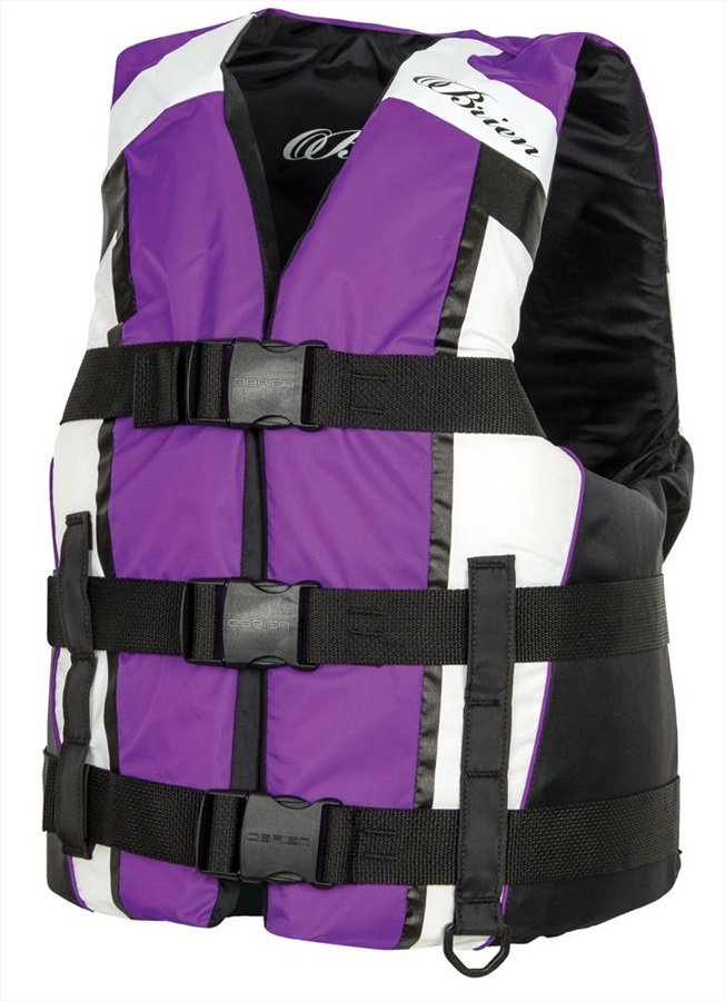 O'Brien 3 Buckle Adjustable Water Sports Buoyancy Vest XS / S Purple