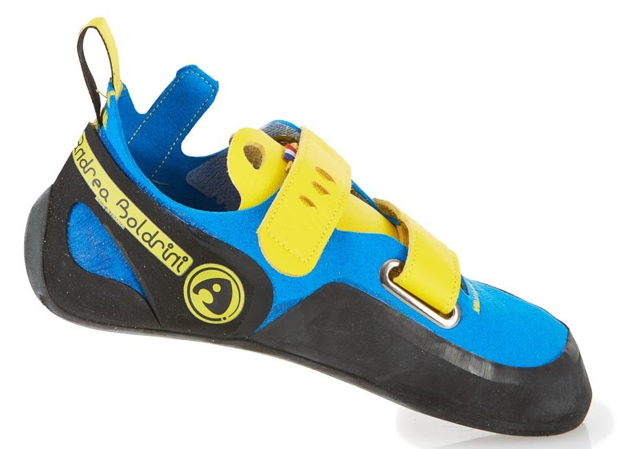 Andrea Boldrini Puma Velcro Rock Climbing Shoe, UK 6.5+ | EU 40.5 Blue