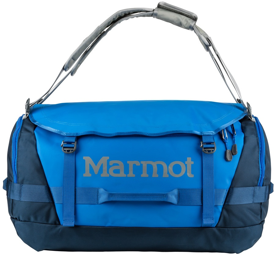 Marmot Long Hauler Duffel Travel Bag - 75L, Peak Blue / Vintage Navy
