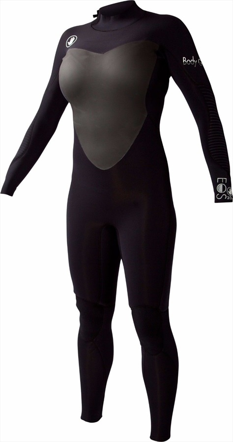 Body Glove EOS Back Zip 3/2 Ladies Surfing Wetsuit, UK 11-12 JET 2019