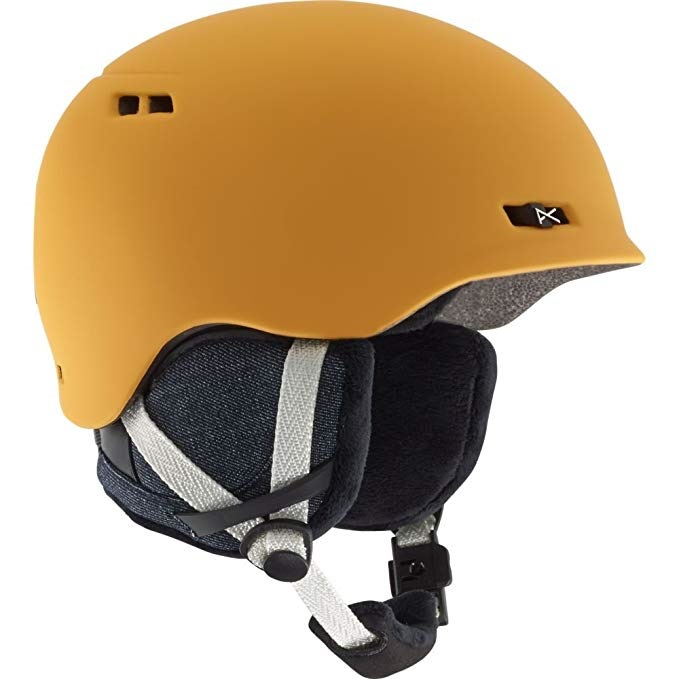 Anon Womens Griffon Women's Ski/Snowboard Helmet, L Curry Yellow