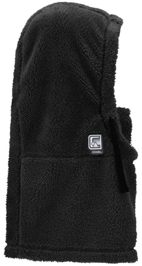Coal The Ridge Sherpa Fleece Snowboard/Ski Hood, One Size Black