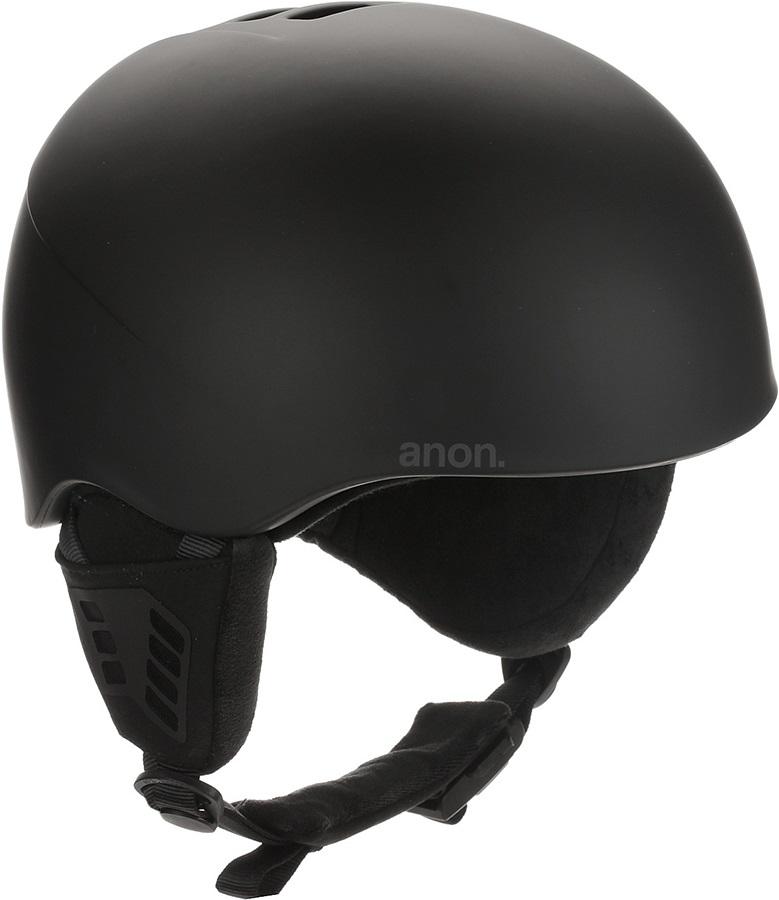 Anon Adult Unisex Helo 2.0 Ski/Snowboard Helmet, S Black