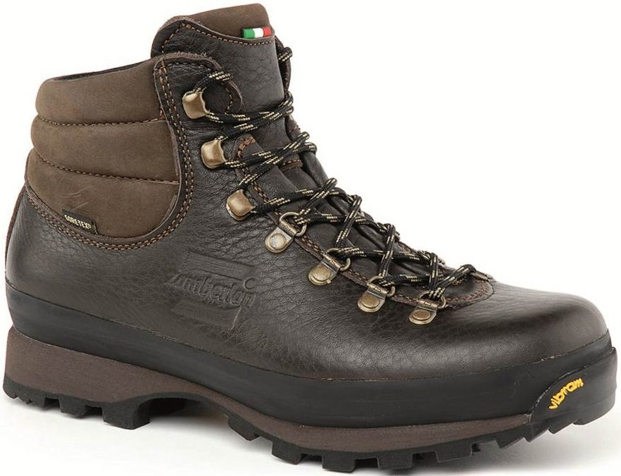 Zamberlan Ultra Lite GTX Leather Hiking Boots, UK 12.5 / EU 48 Brown