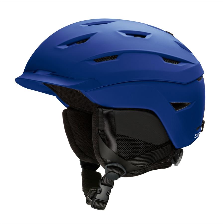 Smith Adult Unisex Level Snowboard/Ski Helmet, M Matte Klein Blue