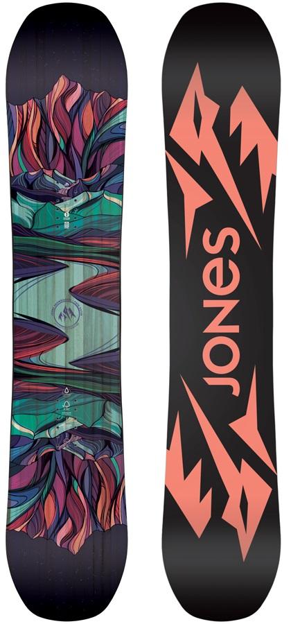 Jones Twin Sister Women's Hybrid Camber Snowboard, 143cm 2020