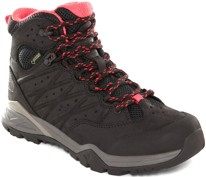 The North Face Hedgehog Hike II MID GTX Hiking Boot, UK 6 Black/Pink