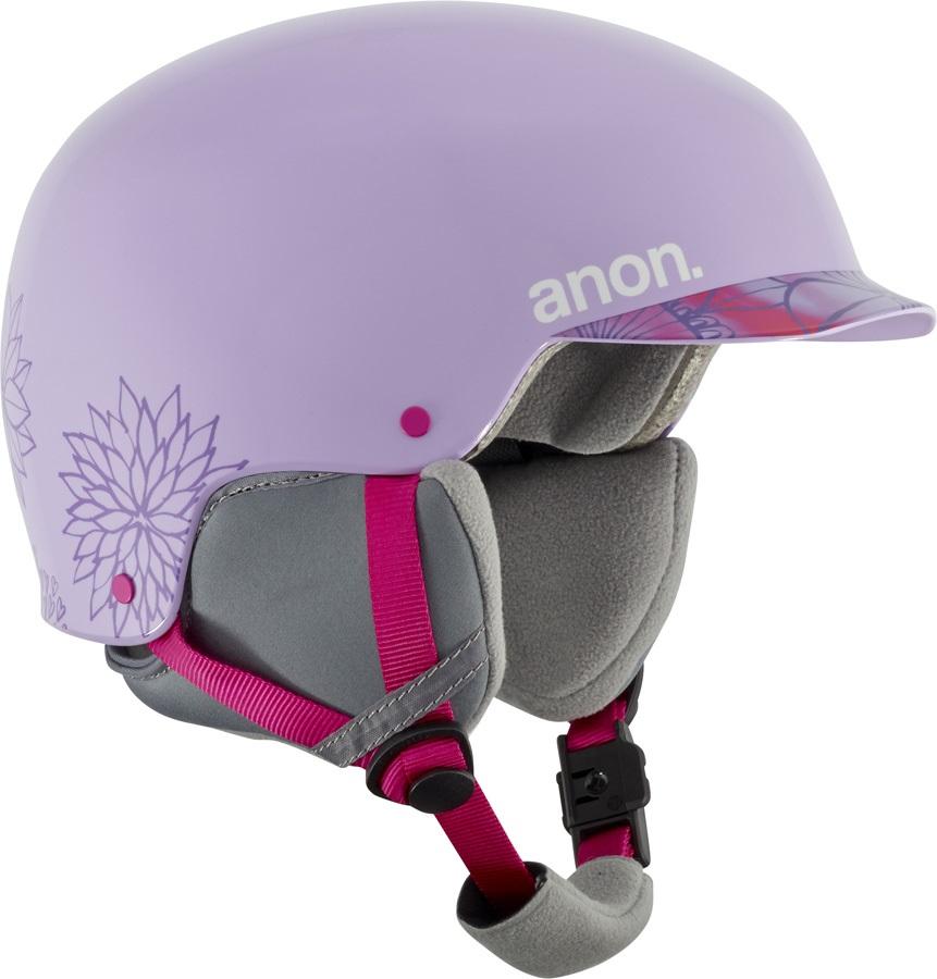 Anon Scout Kid's Ski/Snowboard Helmet L Spring Purple