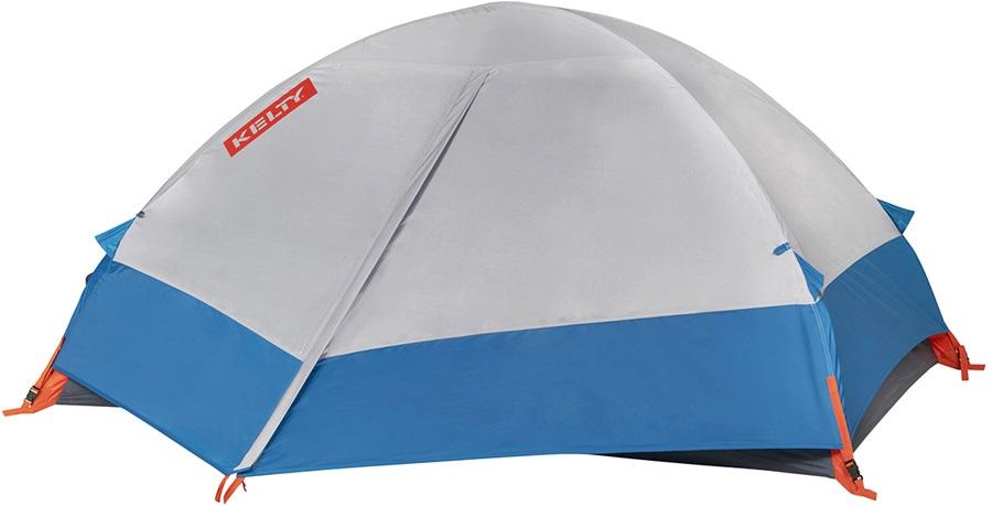 Kelty Late Start 2 Tent Lightweight Backpacking Tent, 2 Man Grey/Blue