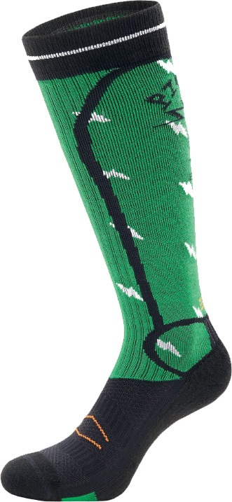 Picture Adult Unisex Magical Snowboard & Ski Socks, S Green