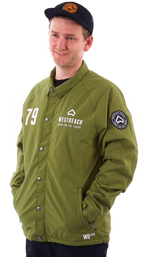 Westbeach Cruiser Sherpa Ski/Snowboard Jacket, M Combat Green
