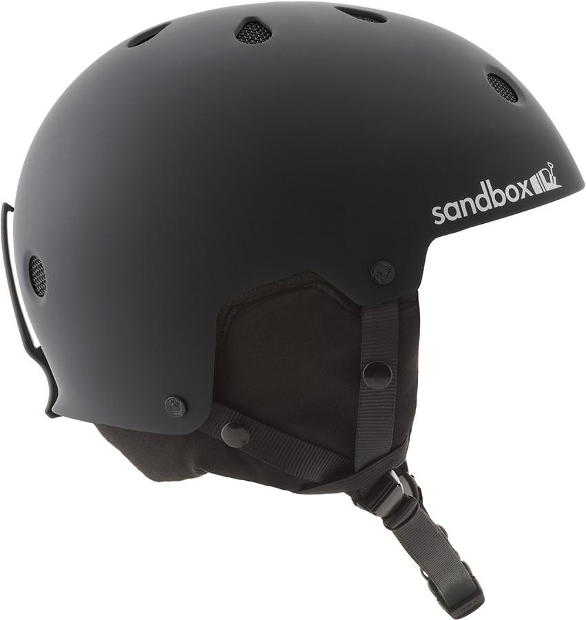 Sandbox Legend Snow Ski/Snowboard Helmet, S Matte Black