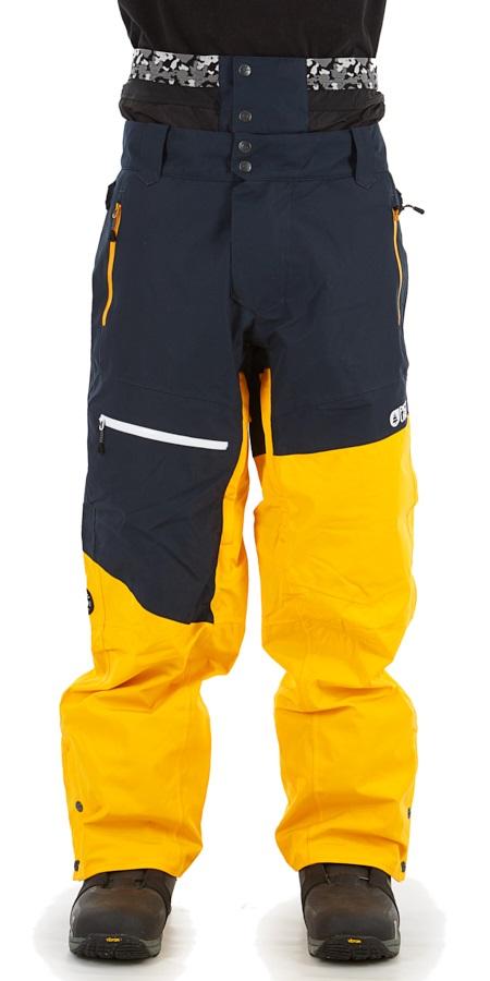 Picture Alpin Ski/Snowboard Pants, S Dark Blue Yellow
