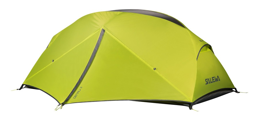 Salewa Denali III Tent Lightweight Backpacking Shelter 3 Person Cactus