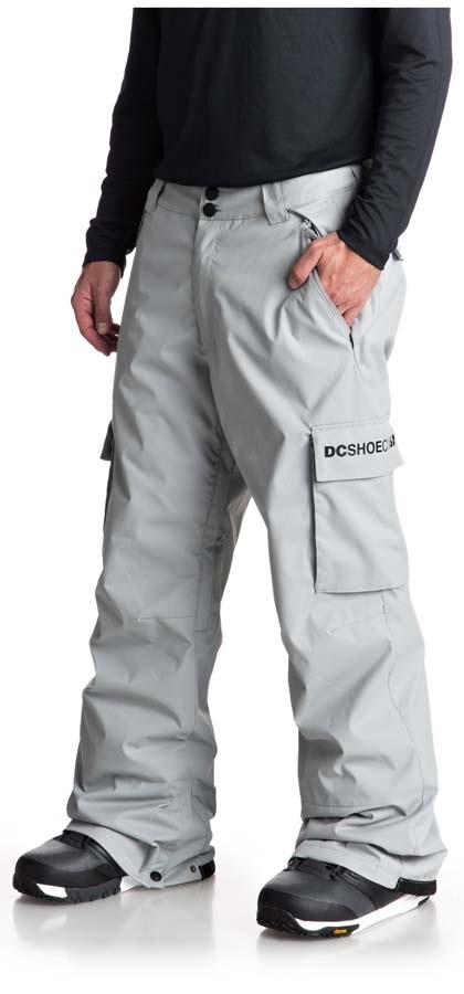 DC Banshee Ski/Snowboard Pants, XS Neutral Grey