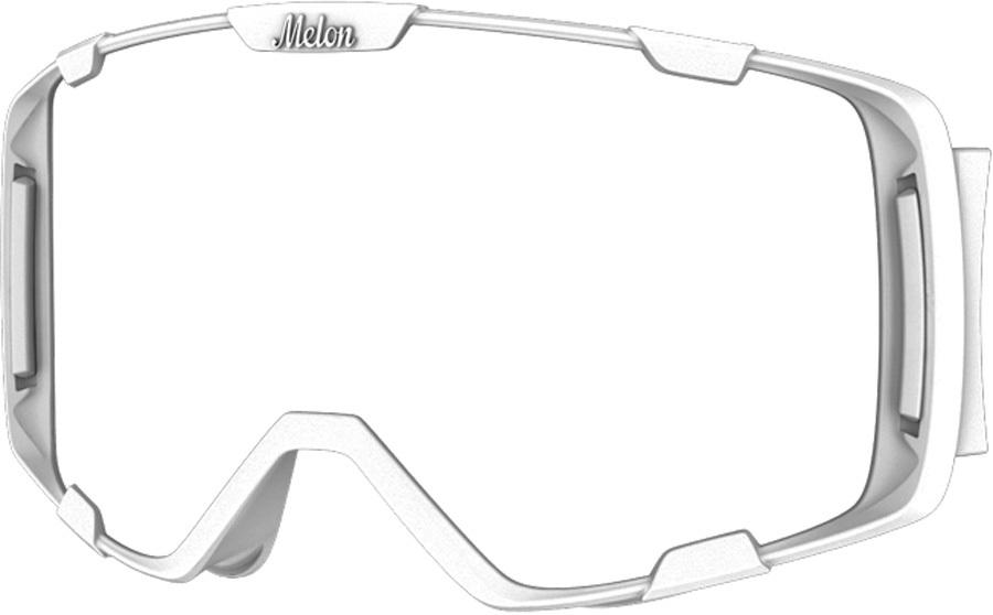 Melon Parker Ski/Snowboard Goggle Frame, M Matte White