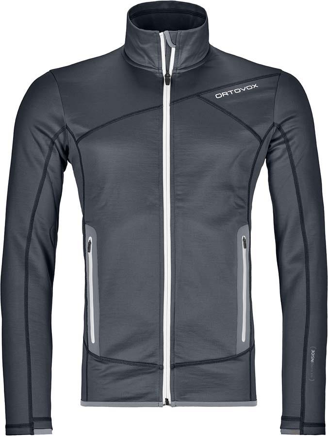 Ortovox Jacket Merino Fleece, M Black Steel