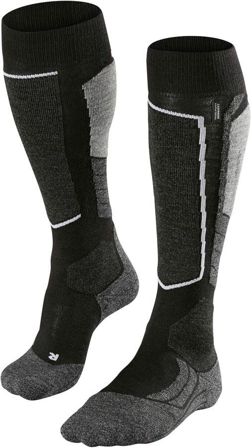 ac7c6ff662eabd Falke SK2 Merino Wool Ski Socks UK 5.5-7.5 Black-Mix